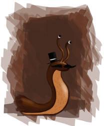 Gentleman Snail by ConvictionArt