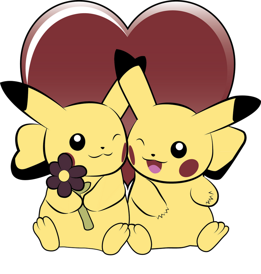 Pikachu Love by AInfinity on DeviantArt