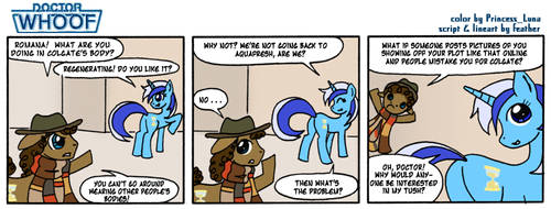 Doctor Whoof Comic