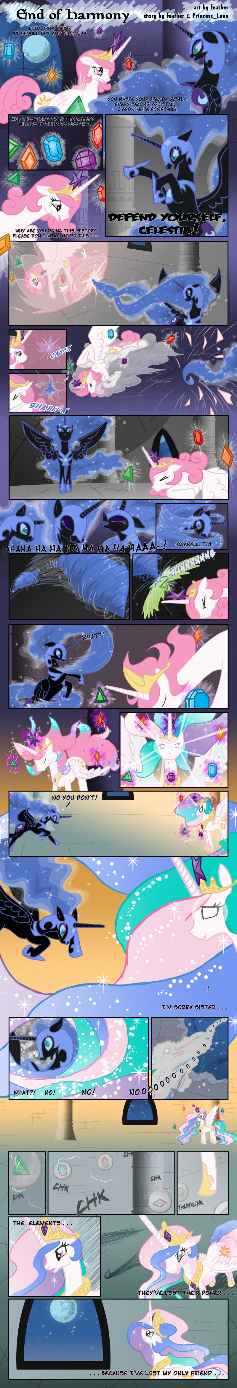 End of Harmony by feather-chan