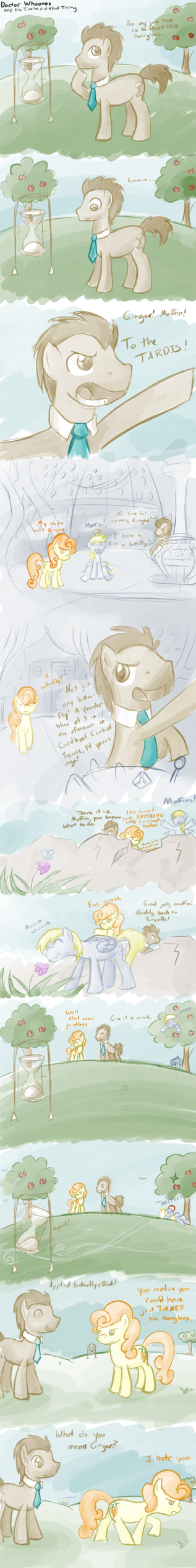Another Doctor Whooves Comic by feather-chan