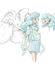 Character Sketch - Angel