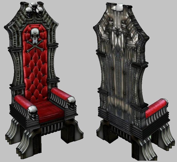 Arcadia throne