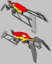 Destiny - Sparrow hoverbike