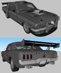 Ford Mustang 1965 Coupe tuned