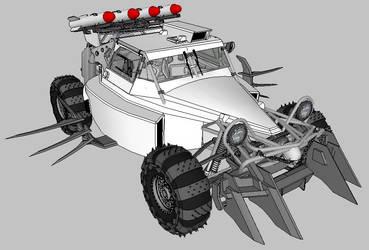 The Crew carmageddon buggy