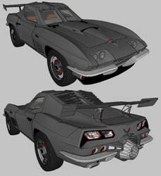 1967 Chevrolet Corvette batmobile