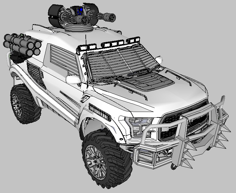Ford Raptor war tuning by MRock91 on DeviantArt