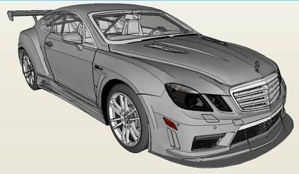Bentley + Merc E 63