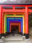 Fushimi Inari Rainbow