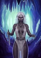 Servant of Lolth by vandelia