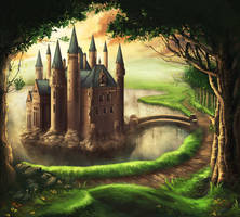 The castle by Schunki