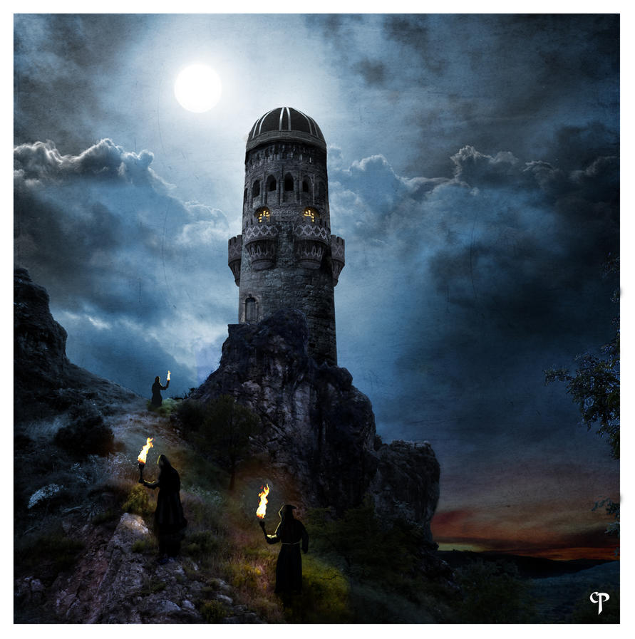 fantasy art wizard castle - photo #17