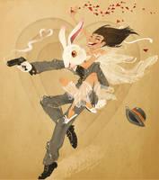 My Honey Bunny Valentine by Fairygodflea