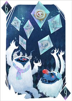 6 of icy Diamonds
