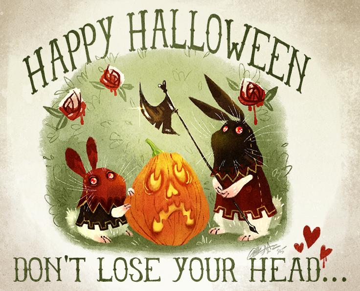 Hoppy Halloween by Fairygodflea