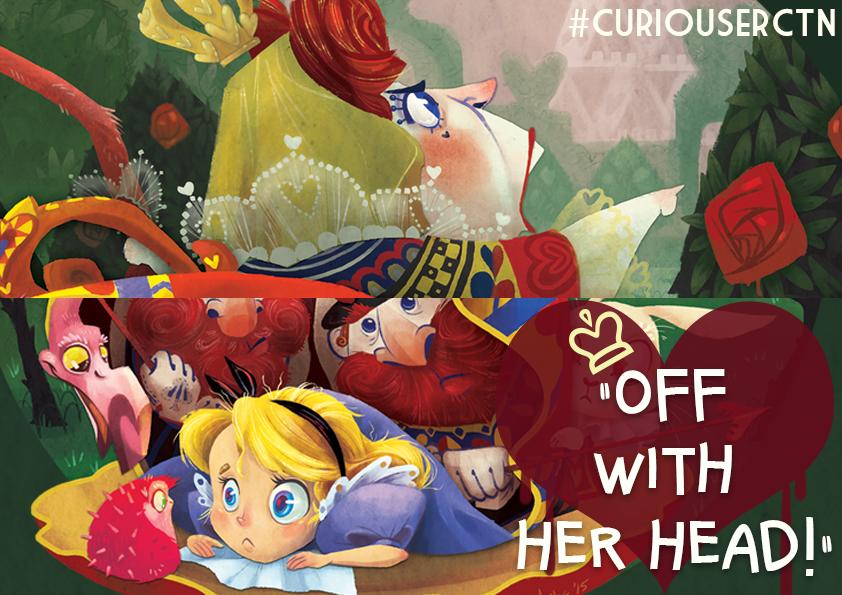 Off with her Head (sneak peek) by Fairygodflea
