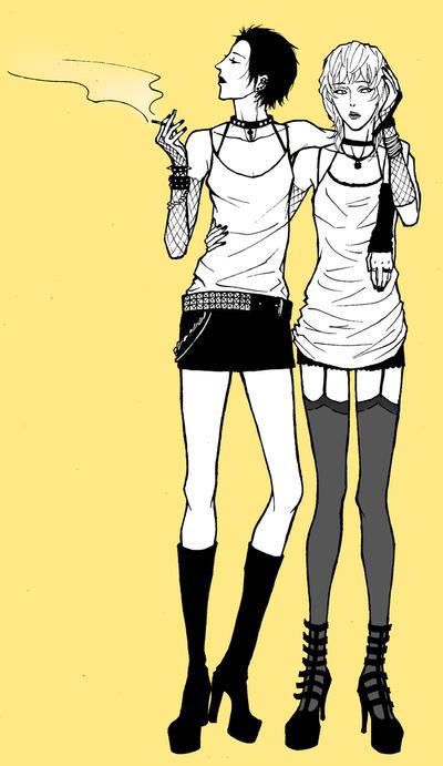 Sid and Nancy by kuroRAN