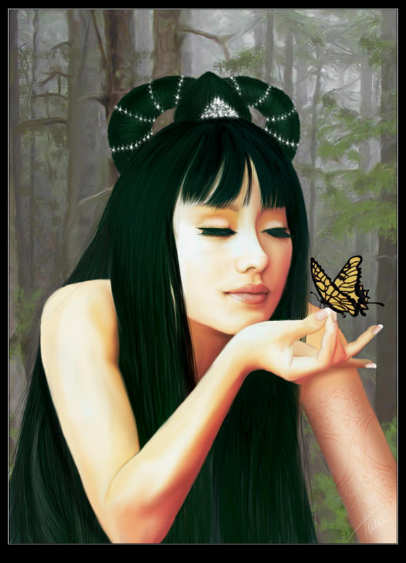 Lee and the Butterfly by vk