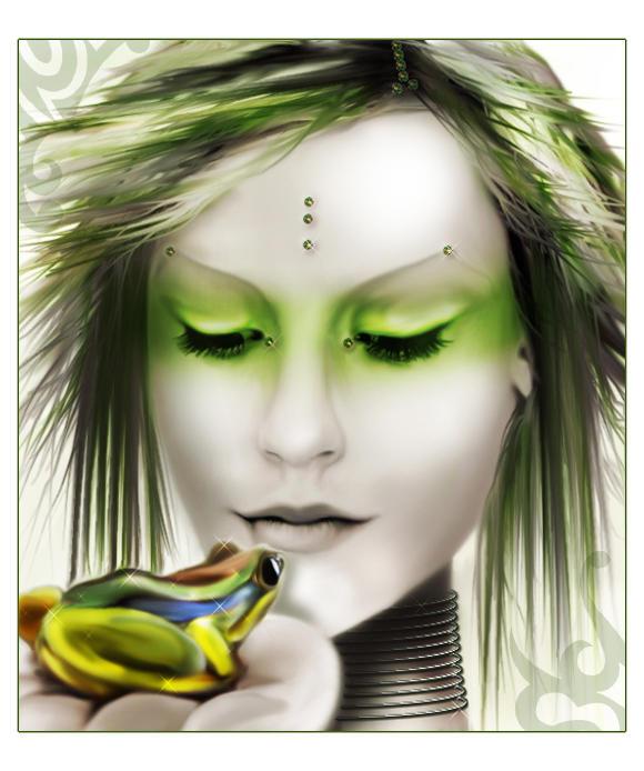 FrogLady by vk