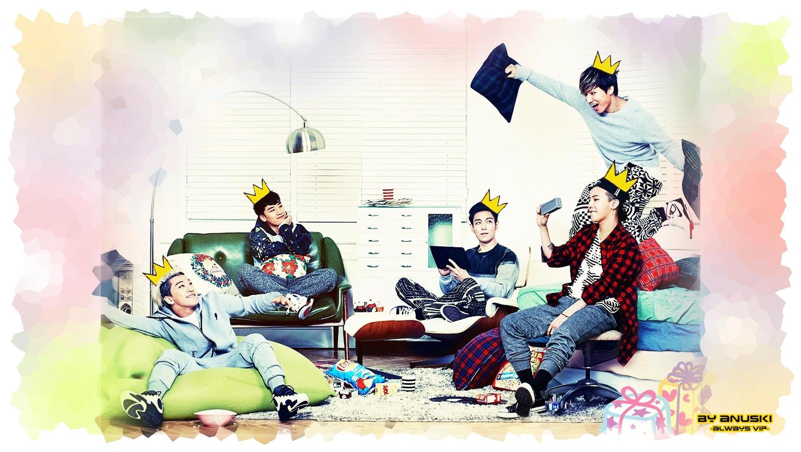 BIGBANG - THE MAGI (THE KINGS) - WALLPAPER by ana-k89