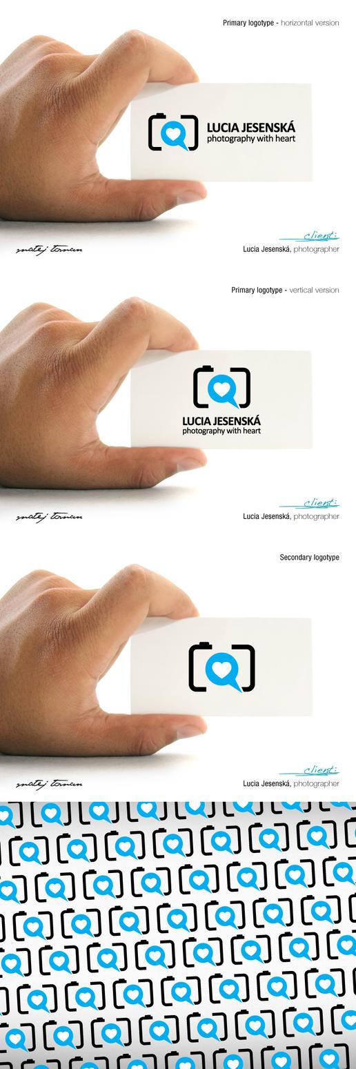 Lucia Jesenska logotype .. by mat3jko
