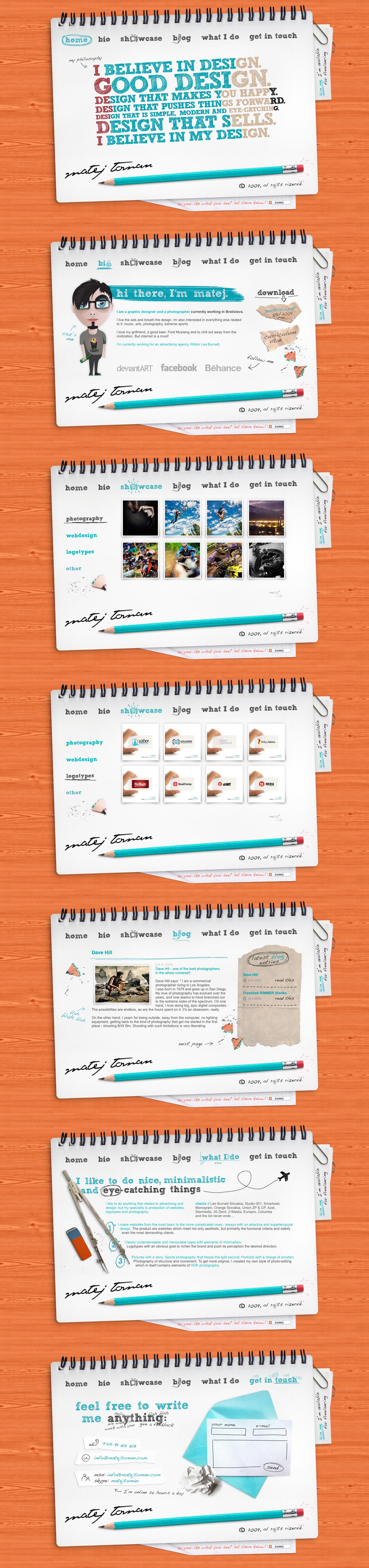 www.matejtoman.com by mat3jko