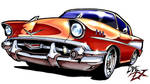 57 Chevy by DreZX