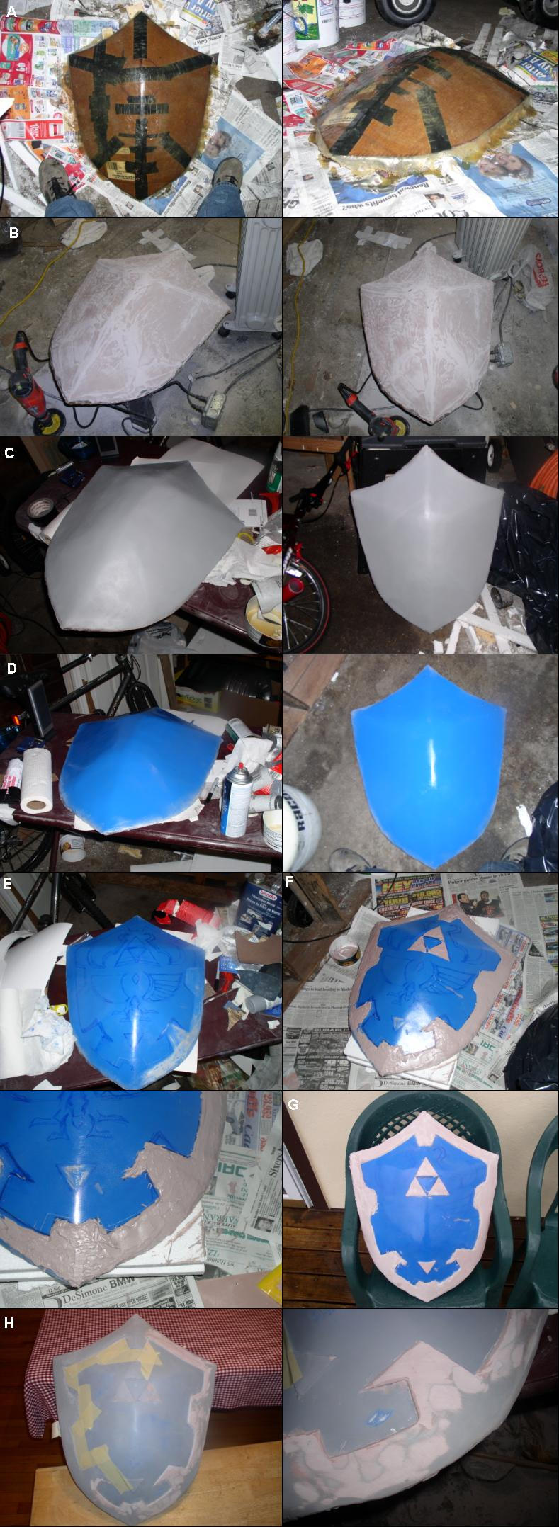 Hylian Shield WIP by DreZX