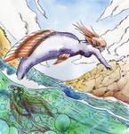 Mermaid jump