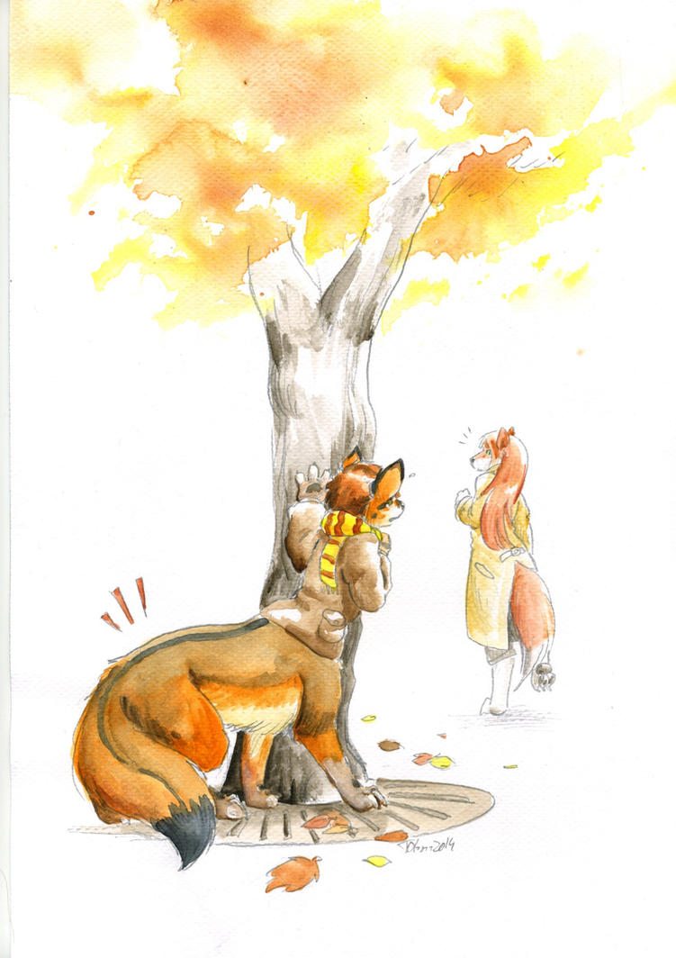 Hiding foxtaur by Cervelet