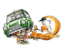 Car repairs by Cervelet
