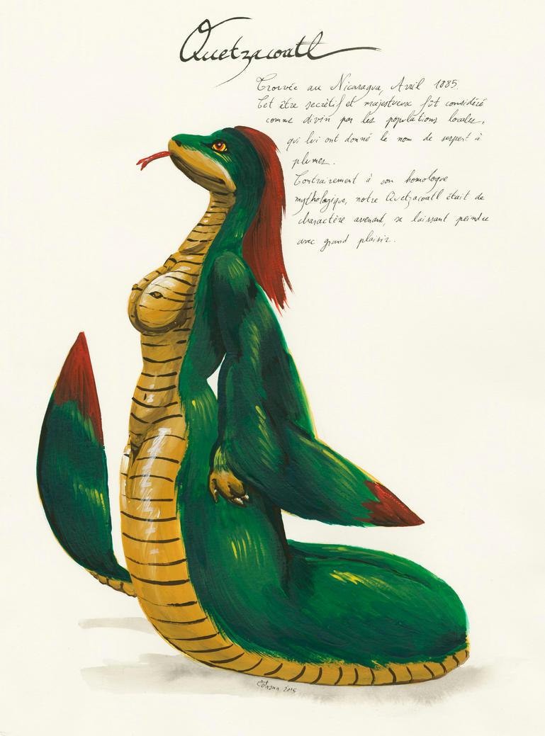 Cheesecake monsters- Quetzacoatl by Cervelet