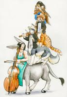 The quatuor by Cervelet