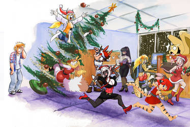 Katbox Christmas Time by Cervelet