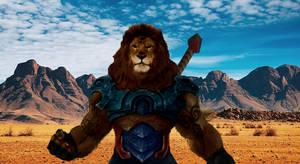 Lionman by The-Nemian-Lion