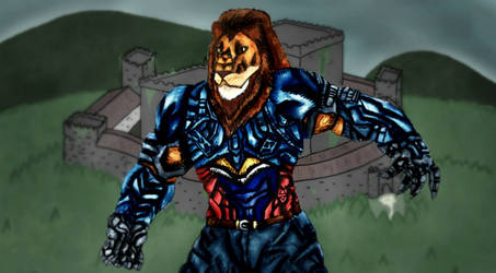 Lionman in Basilva Belumination-OCT Audition entry