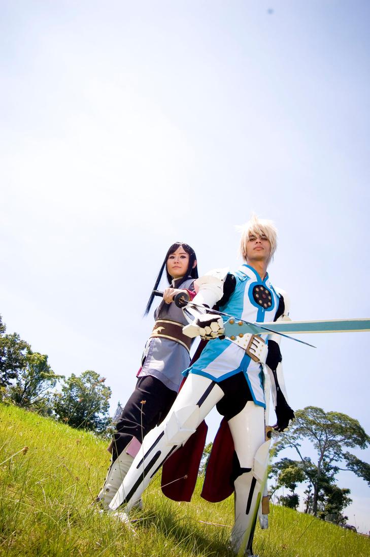 TOV  flynn and yuri by ZaiNaru