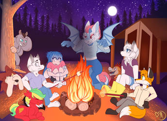 Annual Patreon Thank you YCH by Mdragonflame