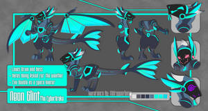 Ultimate Reference Commission - Neon Glint