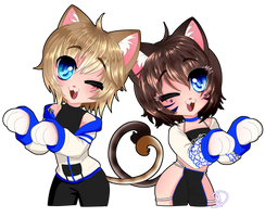 Chibi Gift - Faith and Stormies