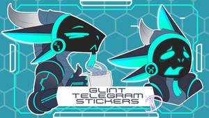 Telegram Sticker Commission - Glint