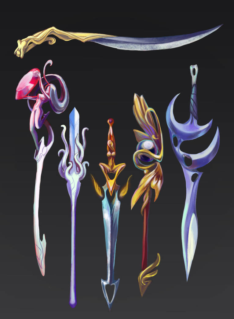 Swords set by IDpictures