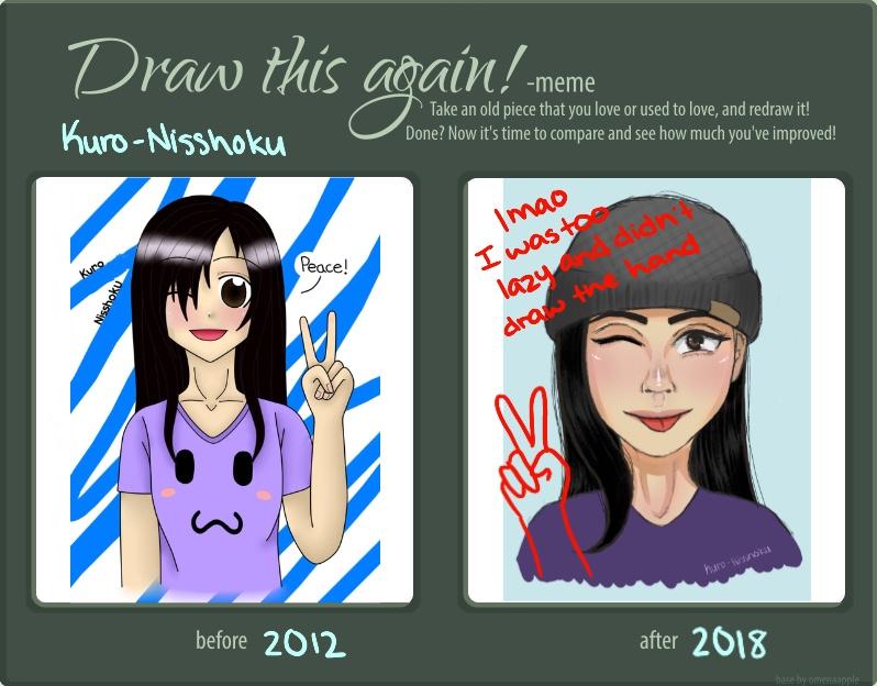 Draw This Again Meme 2018 By Kuro Nisshoku On Deviantart