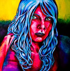 neon portrait 4 by ane-mon