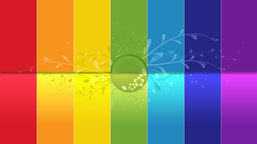 Chakra Colors Wallpaper By VIPF