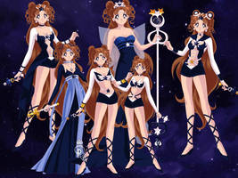 Sailor Asteria All Forms