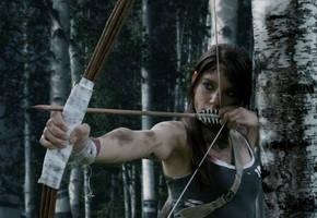 Lara Croft - Tomb Raider 2013 - Hunting by ImeldaCroft