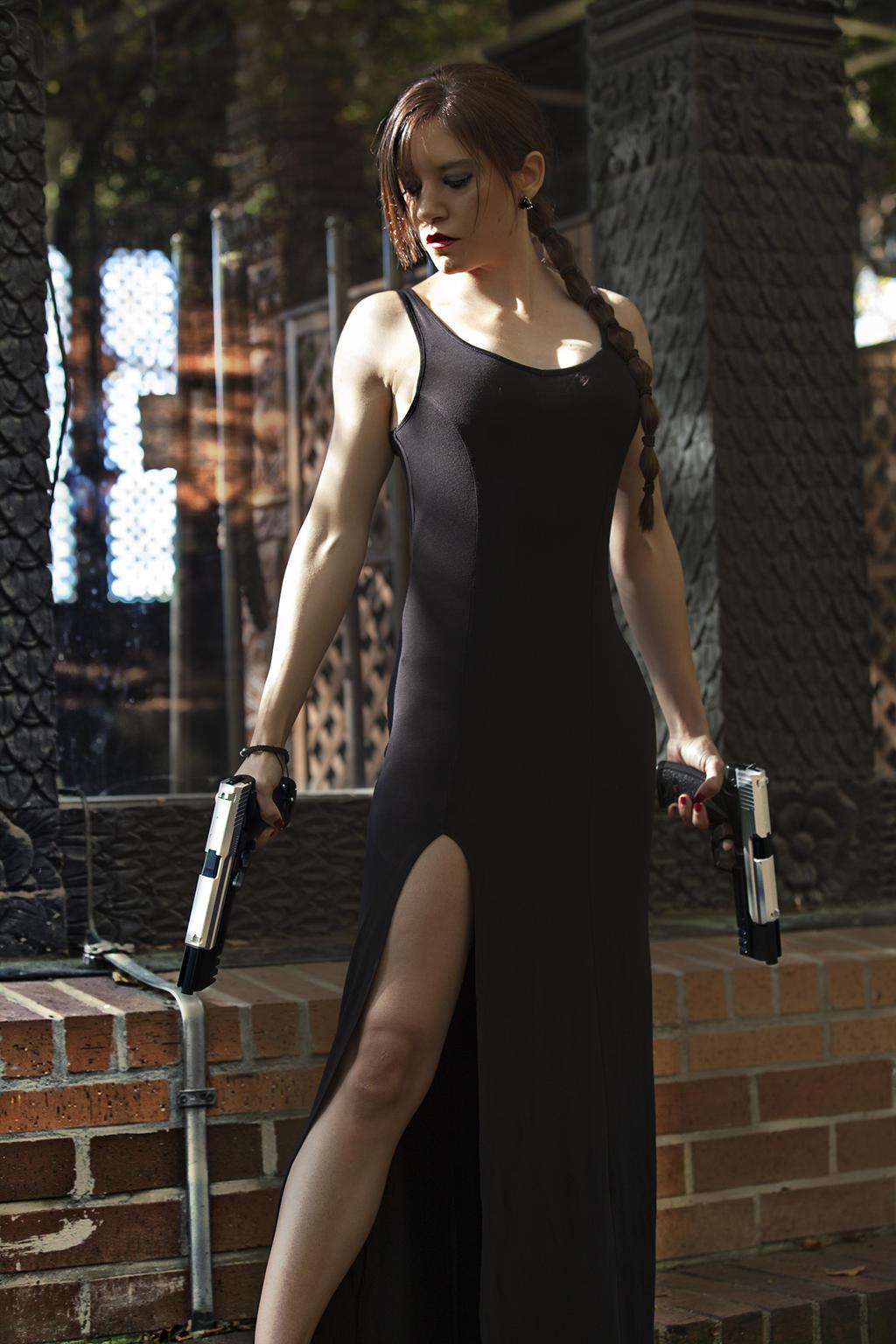 Lara Croft - TR III - Dress 05 by ImeldaCroft