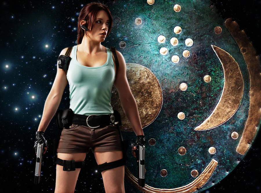 Lara Croft - Nebra Sky Disc by ImeldaCroft